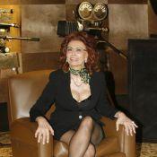 Sophia Loren toujours troublante et provocante... à 75 ans ! Quelles gambettes !
