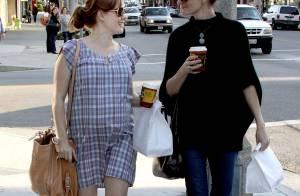 Amy Adams : très enceinte mais sans son fiancé... elle est toujours aussi charmante !