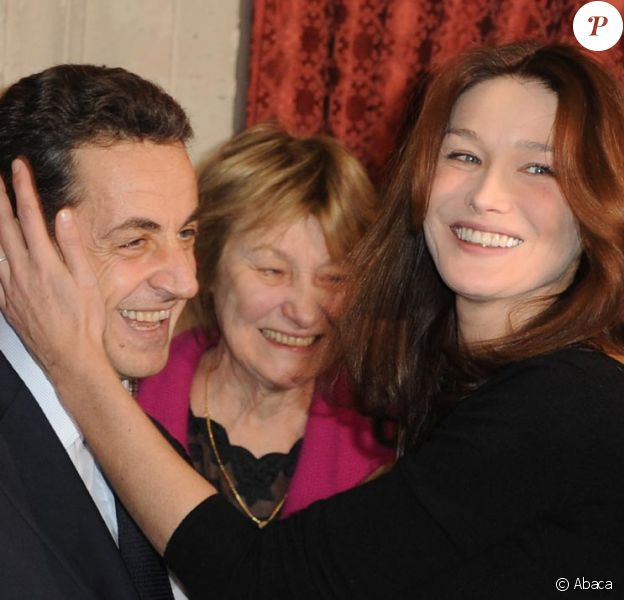 Carla Bruni et Nicolas Sarkozy amoureux