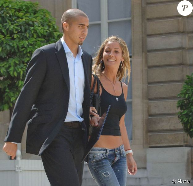 David Trezeguet (photo : avec sa femme) a fait condamner (une fois de plus) le sulfureux Fabrizio Corona