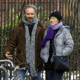 Kate Winslet et Sam Mendes se promènent à New York le 21 janvier 2009.