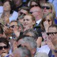 Kate Winslet et Sam Mendes, en juillet 2009, à Wimbledon. C'est l'une des dernières apparitions officielles du couple...