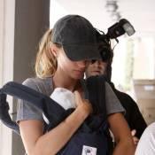 Gisele Bündchen : Nouvelle sortie sportive avec son adorable bébé !