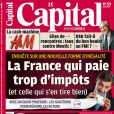 La couverture de  Capital , en kiosques le 25 mars 2010.
