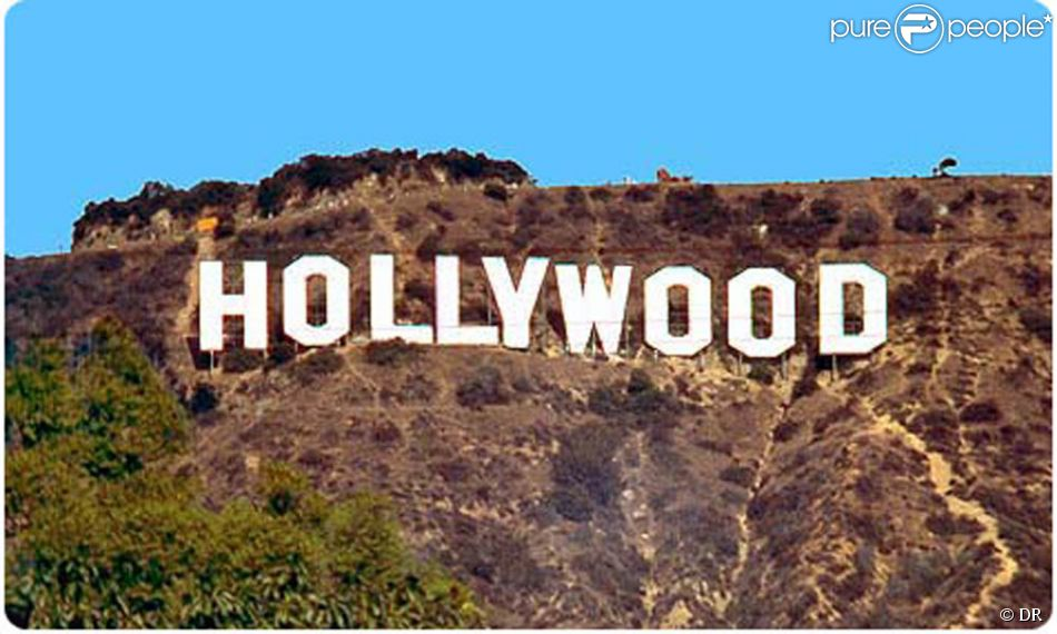 lettre hollywood Les fameuses lettres HOLLYWOOD surplombant Los Angeles, peut être  lettre hollywood