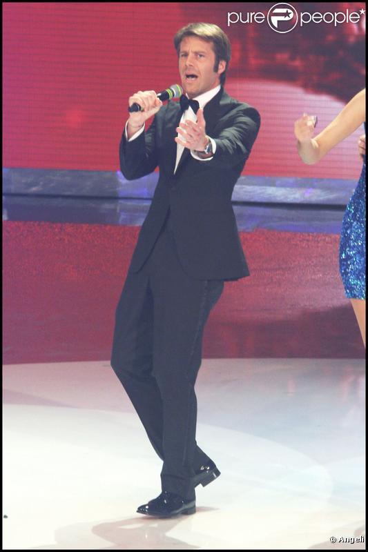 Emmanuel Philibert de Savoie durant l'émission de télé italienne  Ciak si canta , le 26 mars 2010