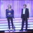 """Alex Lutz et Audrey Lamy  sur la scène de Bobino au festival """"Paris fait sa comédie"""", le 314 mars 2010 !"""