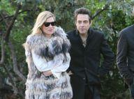Kate Moss, radieuse et amoureuse, au bras de son Jamie Hince... s'en est pris plein la vue à Paris !