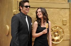 Benicio Del Toro, en sensuelle compagnie pour faire preuve de séduction... et de gourmandise !