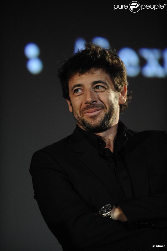 Patrick Bruel lors du 2ème Festival International du Film Policier de Beaune, le 9 avril 2010