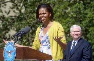 Michelle Obama : Un rayon de soleil printanier... ovationné !