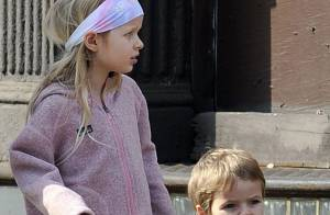 Apple et Moses, les enfants de Gwyneth Paltrow et Chris Martin : sans parents mais heureux !