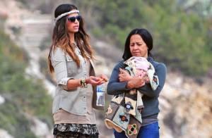 Camila Alves : En plein travail sur la plage, elle n'oublie pas son adorable fille !
