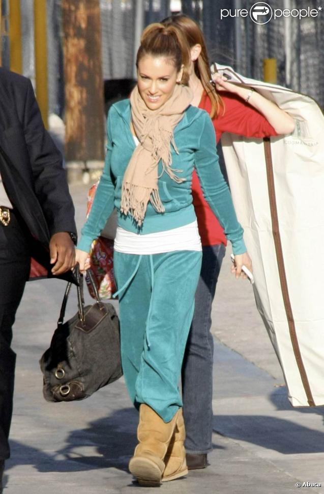 Alyssa Milano à Los Angeles, le 14 avril 2010