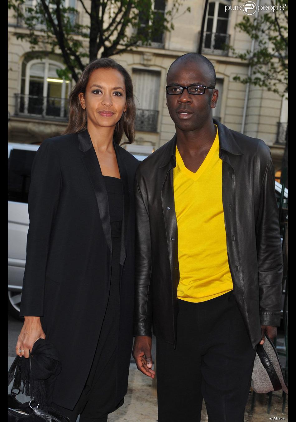 Karine le marchand et son compagnon lilian thuram lors du gala d 39 amnesty international france - Damien thevenot et son compagnon ...