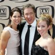 Tim Allen, sa femme et sa fille pour la 8ème cérémonie de TV LAnd Awards (17 avril à Culver City, USA)