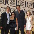 """Ray Romano,  Patricia HEaton, Bad Garrett de la série """"Tout le monde aime Raymond"""" (17 avril 2010, Culver City, USA)"""
