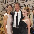 Tim Allen, maître de cérémonie, avec sa femme et sa fille(17 avril 2010, Culver City, USA)