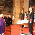 Cérémonie d'obsèques de Juan Antonio Samaranch, au Palais de la Generalitat, Barcelone, le 22 avril 2010 !