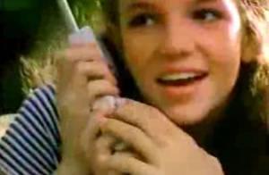 Britney Spears : Regardez-la, à 14 ans, tourner dans une pub pour gagner son argent de poche !