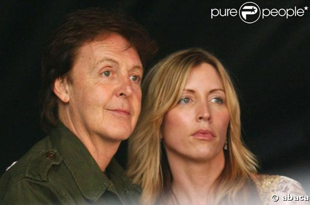 Heather Mills et Paul McCartney