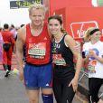Marathon de Londres 2010 : Gordon Ramsay et sa femme Tana