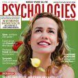 Sandrine Bonnaire, en couverture de Psychologies Magazine du mois de mai 2010