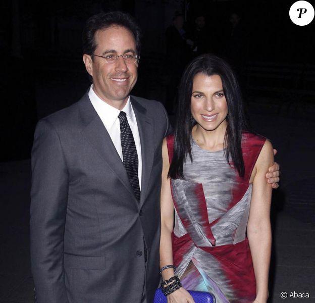 Jerry Seinfeld et sa charmante épouse Jessica, qui vient de gagner son procès pour plagiat.