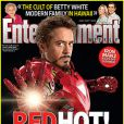 La couverture de Entertainment Weekly avec Robert Downey Jr.