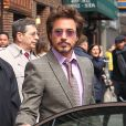 Robert Downey Jr. à New York le 28 avril 2010