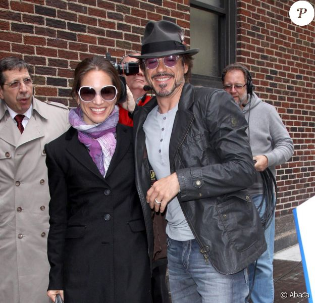 Robert Downey Jr., amoureux passionné, à New York le 28 avril 2010