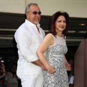 La star cubaine Gloria Estefan au bras de son mari... pour un hommage ultime !