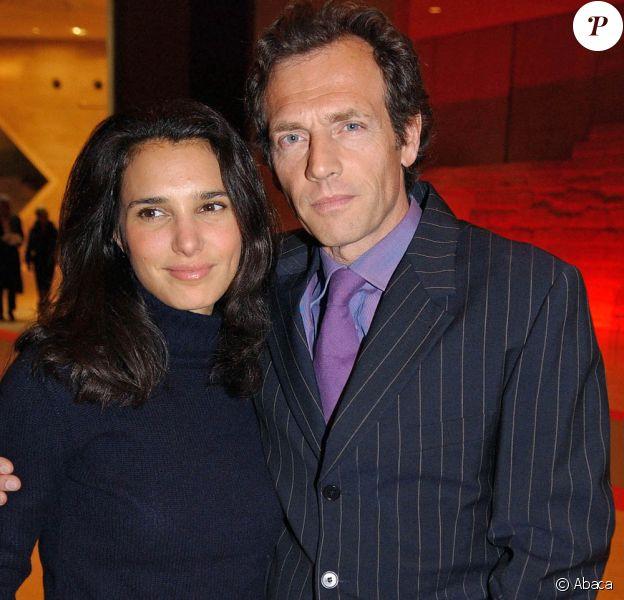 Stéphane Freiss et sa femme Ursula