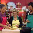 Ursula Freiss et Cyril Hanouna dans Kitchen Connection