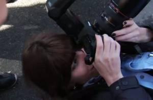Regardez quand Lou Doillon retombe en enfance et joue les photographes, c'est magique !