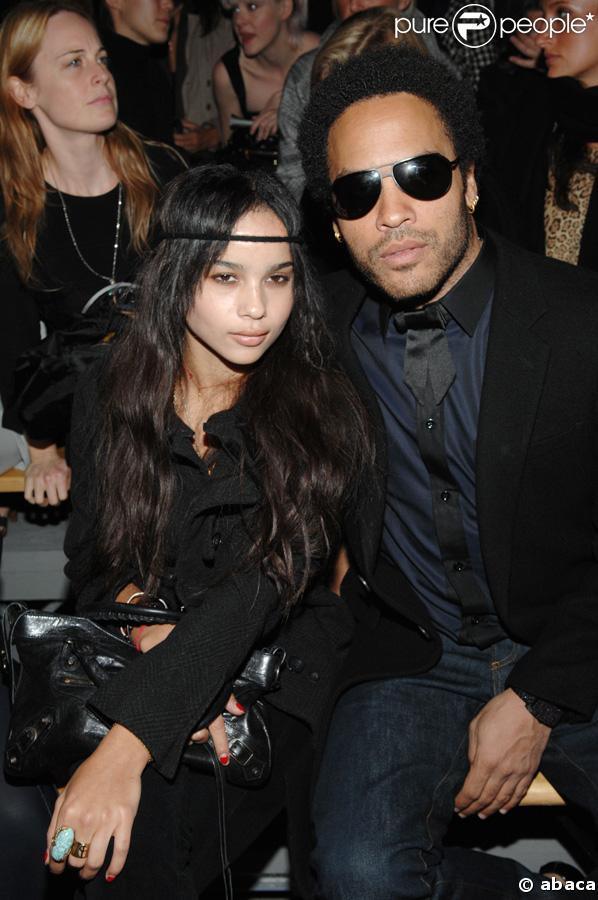 Lenny Kravitz et sa fille, Zoe Kravitz
