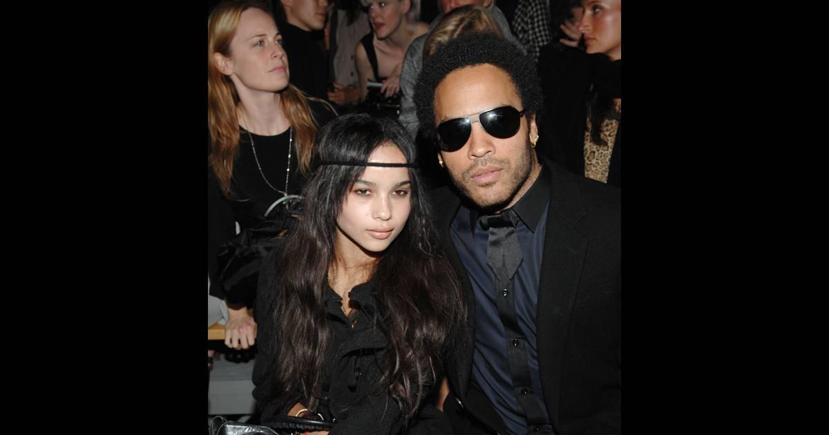 Lenny Kravitz et sa fille, Zoe Kravitz...