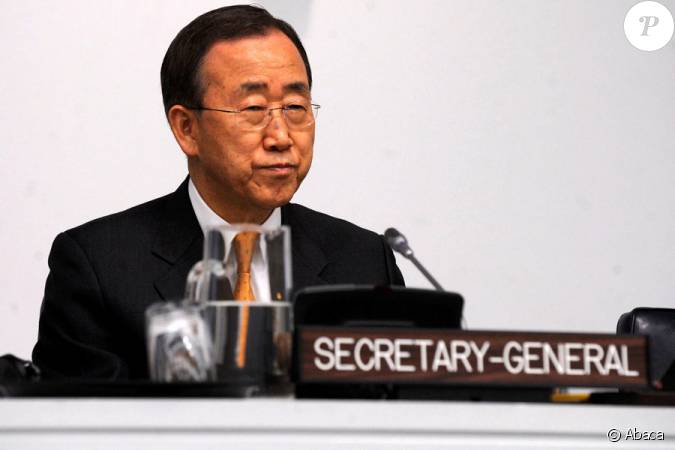 le secr 233 taire g 233 n 233 ral des nations unies ban ki moon