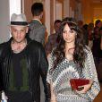 Benji Madden et Nicole Richie se rendant à la soirée Missoni à Santa Monica, le 6 mai 2010