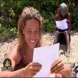Myriam est ravie d'avoir des nouvelles de sa petite soeur - Koh Lanta (14 mai 2010)