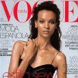 Liya Kebede en couverture de Vogue
