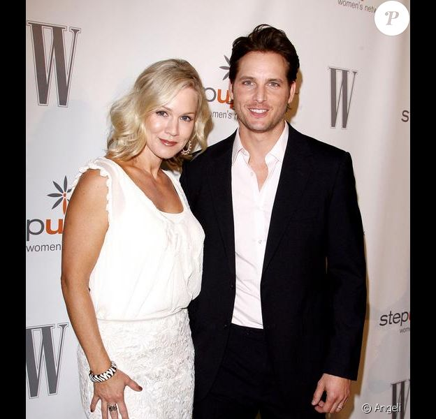 Jennie Garth et son époux, Peter Facinelli, aux Annual Inspiration Awards 2010, à laquelle l'actrice de Beverly Hills a été récompensée, ce vendredi 14 mai.