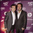 Thomas Langmann et Gilles Lellouche au Heaven's Floor, à Cannes, le 14 mai 2010 !