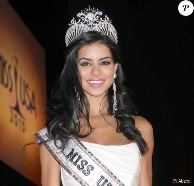 Rima Fakih lors de l'élection de Miss USA 2010, le 16 mai 2010 à Las Vegas