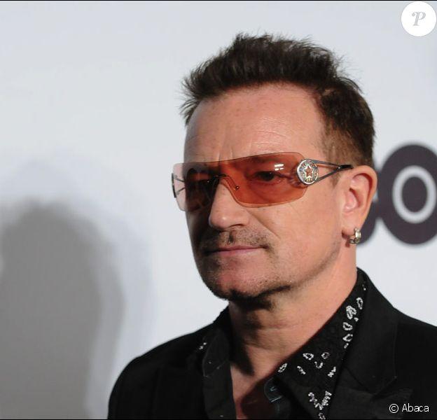 Bono, le leader charismatique du groupe U2