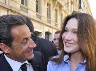 Carla Bruni et Nicolas Sarkozy : Promenade ensoleillée sur des Champs-Elysées campagnards ! (réactualisé)
