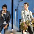 Les Jonas Brothers en concert le 21 mai à New York