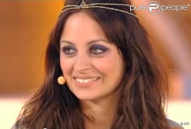 Nicole Richie dans l'émission de télé allemande  Wetten, dass..?