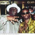 Notorious B.I.G et son manager P.Diddy