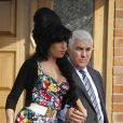 Amy Winehouse et son père Mitch, Londres, 17 mars 2009 !